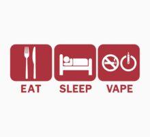 Eat, Sleep, Vape by craven-arts