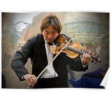 Classical Busker Poster
