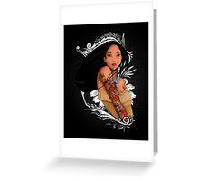 Pocahontas - Inked Greeting Card