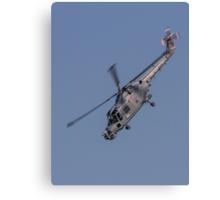 Westland Lynx HMA.8SRU ZF563/303 Canvas Print