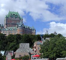 Old Quebec City by Cathy Jones