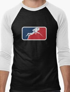 Spearfishing Men's Baseball ¾ T-Shirt