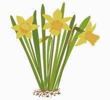 Beautiful Daffodils Kids Clothes