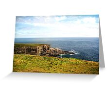 Mizen Head Greeting Card