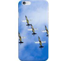 Breitling air display team L-39 Albatross iPhone Case/Skin