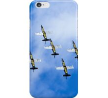 Breitling air display team L-39 Albatross iPhone Case/Skin