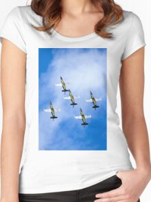 Breitling air display team L-39 Albatross Women's Fitted Scoop T-Shirt