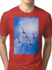Breitling air display team L-39 Albatross Tri-blend T-Shirt