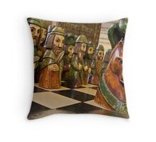 Surrender to the Knight Throw Pillow
