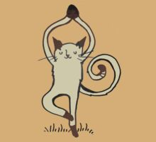 Yoga Cat by Rose Sherman