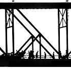 A busy bridge. by Paul Pasco