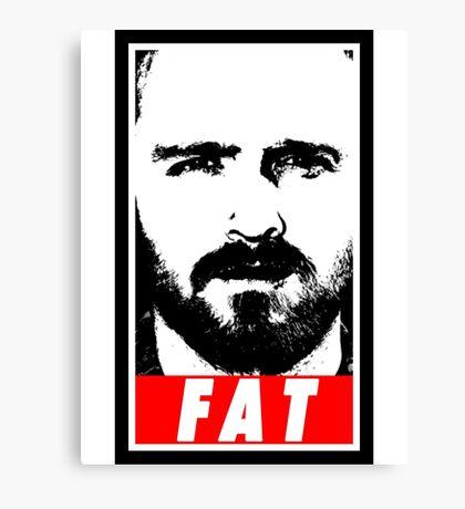 Pinkman - FAT Canvas Print