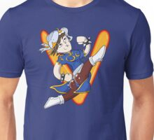 Chun Li- Warrior of the Ramen Unisex T-Shirt