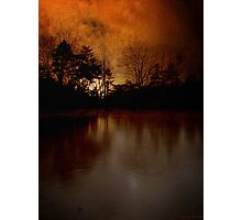 Frozen Sunset Photographic Print