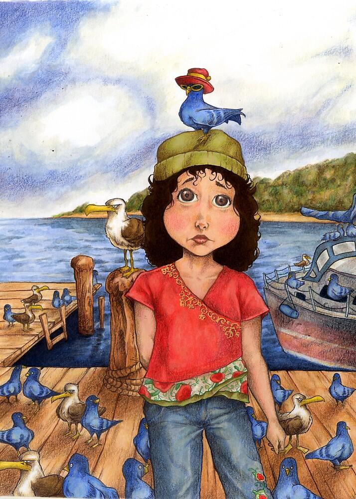 The Bird Girl of Pier 18 by Steven Novak