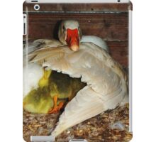 under the wing iPad Case/Skin