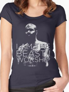 Death Grips | MC Ride 1 Women's Fitted Scoop T-Shirt