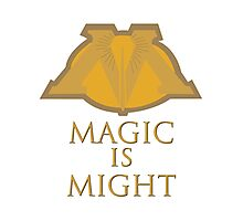 Magic Is Might Photographic Print