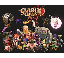 Clash of Clan - Assemble Photographic Print