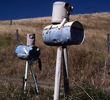 """War Of The Worlds"" ? Letterboxes, Queensland by muz2142"
