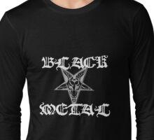 Black Metal II Long Sleeve T-Shirt