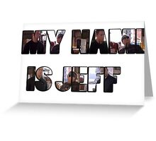 My Name Is Jeff Greeting Card