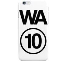 Washington 10 iPhone Case/Skin