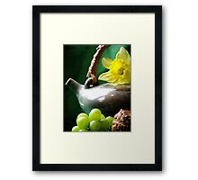 Spring Tea Framed Print