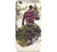 Christmas Tree Farm iPhone Case/Skin