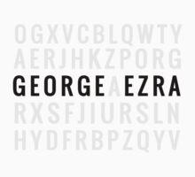 George Ezra Cipher by ezranite