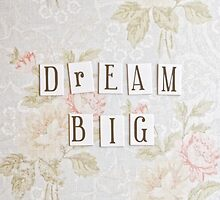 Dream Big by Debbra Obertanec