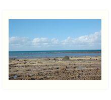 Beach, Hervey Bay Art Print