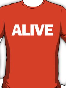 Alive Black T-Shirt