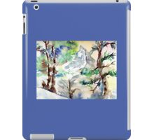 Trees in the Alps iPad Case/Skin
