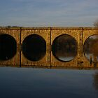 Lancaster Viaduct by Barry Rowlingson