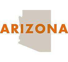 Arizona - Red Photographic Print