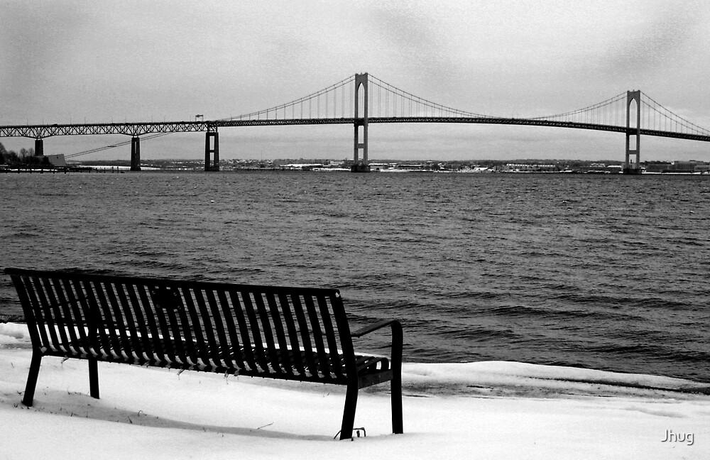 Newport Bridge by Jhug