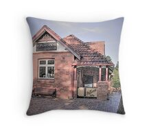 Post Office /Coffee Shop Throw Pillow