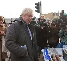 Boris Johnson visits Ealing by Keith Larby