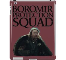 Boromir Protection Squad iPad Case/Skin