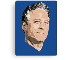 John Stewart of The Daily Show Canvas Print