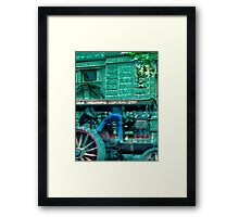 brisbane 10 Framed Print