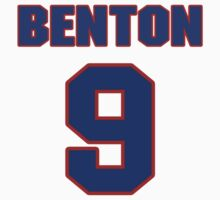 National baseball player Butch Benton jersey 9 by imsport