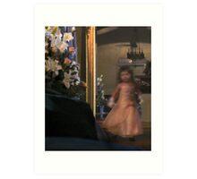 The Flower girl : photograph Art Print