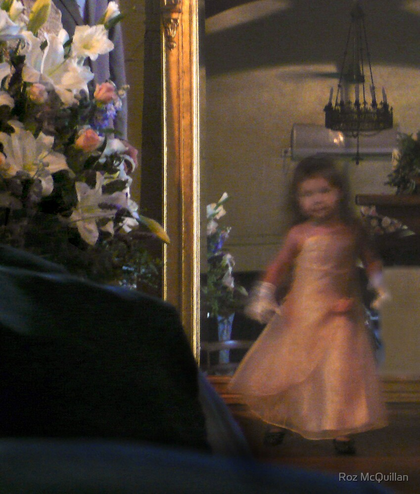 The Flower girl : photograph by Roz McQuillan
