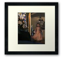 The Flower girl : photograph Framed Print