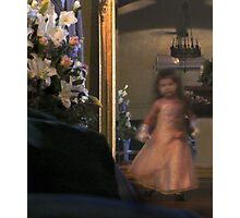 The Flower girl : photograph Photographic Print