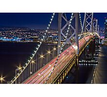 San Francisco Bay Bridge Photographic Print