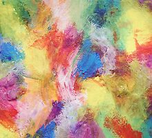 """In a Dream No.5"" original abstract artwork by Laura Tozer by Laura Tozer"