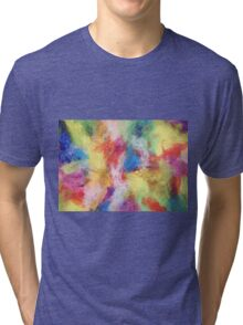"""In a Dream No.5"" original abstract artwork by Laura Tozer Tri-blend T-Shirt"